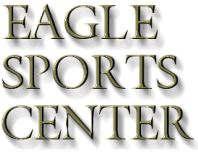 Eagle Sports text logo - Baffin, Kamik, LaCrosse, and Sorel boots - musky fishing and fly fishing tackle - outdoor clothing - sorel and lacrosse boots