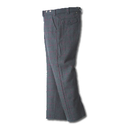 Simple Maison Kitsun  Gray Tcamo Virgin Wool Pants For Men  Lyst