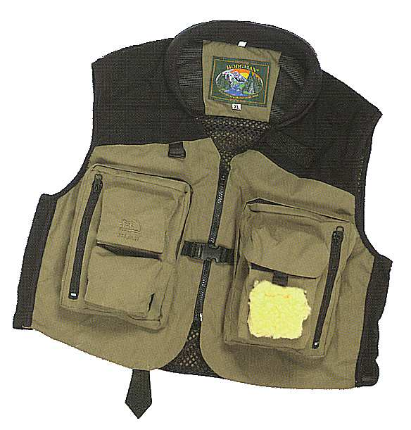 Fly fishing vest wool fly for Fly fishing vest